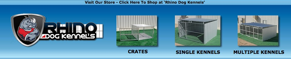 Rhino Dog Kennels